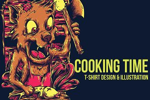 Cooking Time Illustration
