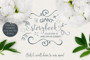 Giant Storybook Elements Collection