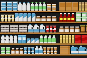 Supermarket Shelfs Shelves