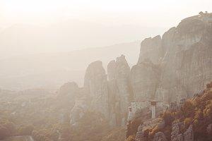 Meteors monasteries in Greece