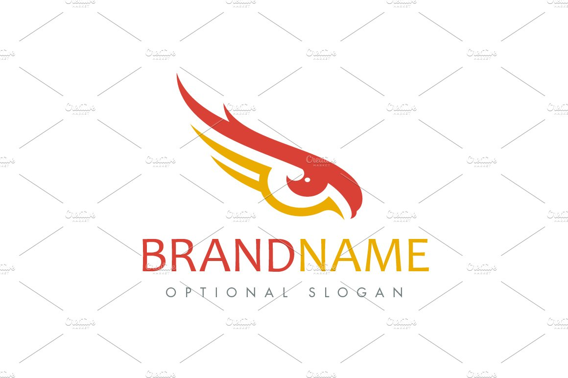 eagle eye logo logo templates creative market