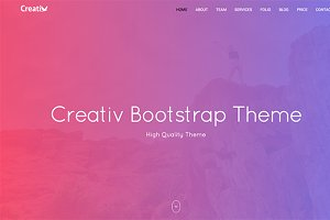 Creativ Bootstrap Landing page Theme