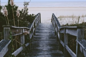 Weathered Boardwalk