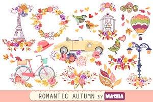 ROMANTIC AUTUMN clipart