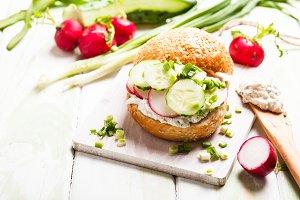 The Spring sandwich
