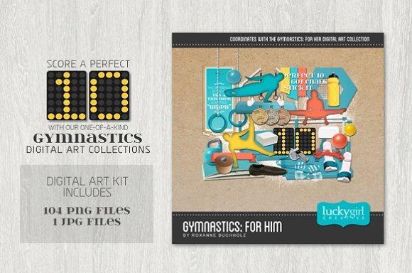 Gymnastics: For Him - Illustrations