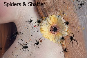 Spiders & Shatter Ps Action