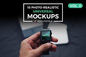 10 Universal Mockups Vol. 2