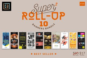 Super 2 - Roll-Up Banners Bundle