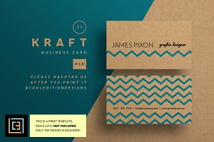 Kraft - Business Card 77