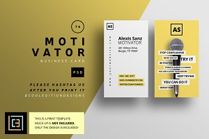 Motivation business card photos graphics fonts themes templates motivator business card 76 colourmoves