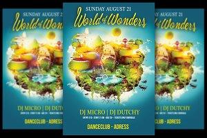 World Of Wonders Flyer