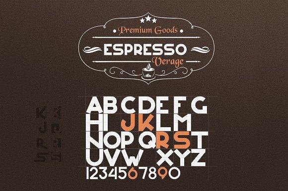Espresso Verage Font
