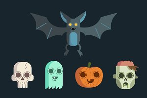 Editable Vector Spook Pack