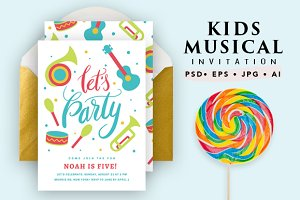 Printable Musical Birthday Card
