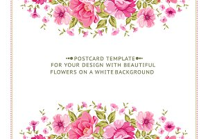 Awesome Floral Cards Set