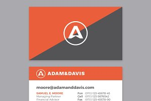 Business Card Template - BOLD