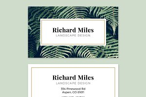 Business Card Template - FLORA