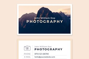 Business Card Template - IMAGINE