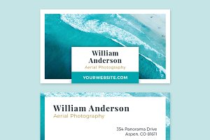 Business Card Template - OCEAN