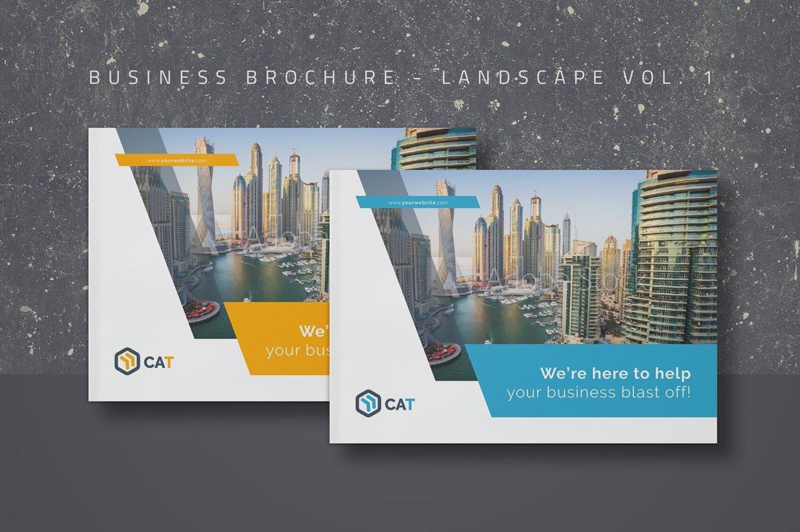 Business Brochure Landscape Vol 1 Brochure Templates