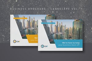 Business Brochure - Landscape Vol. 1