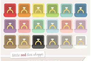 Ring Box Clipart