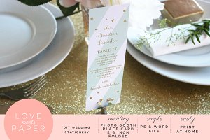 Photo Booth Place Card PC1009