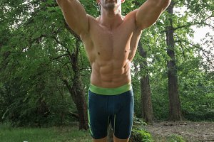 man forest suspension training