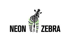 Zebra Stripes Logo Vector