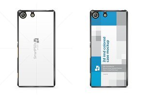 Sony Xperia M5 Phone Case Mockup