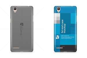 Oppo F1 3d Phone Case Mockup