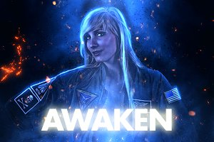 Awaken Photoshop Action