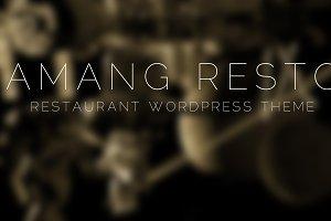 Amang Resto - Restaurant WP Theme