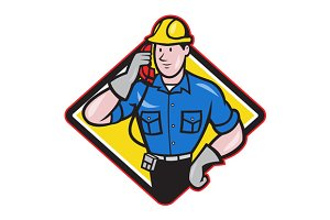 Telephone Repairman Lineman Work