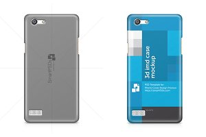 Oppo Neo 7 3d Phone Case Mockup