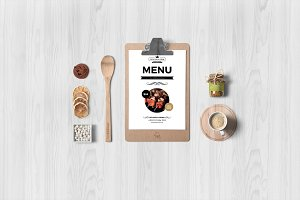 Food Menu Flyer Template-V357