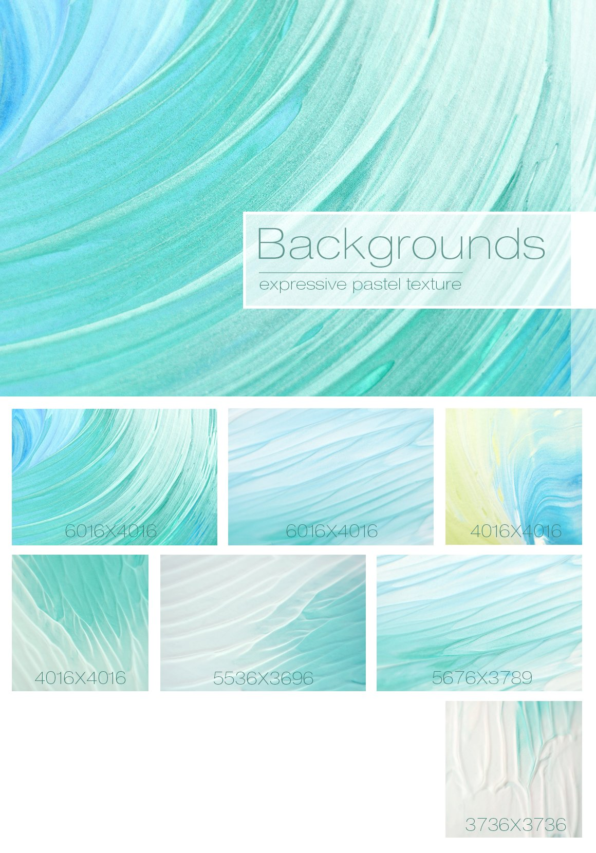 Abstract Turquoise Backgrounds ~ Textures ~ Creative Market