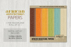 African Adventure: Papers