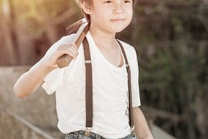Boy Vintage Style