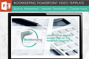 Bookkeeping Power Point Template