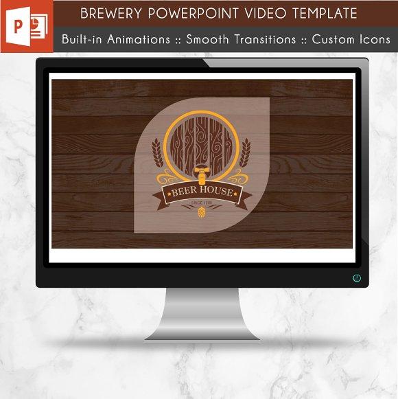Brewerybeer Power Point Video Presentation Templates Creative