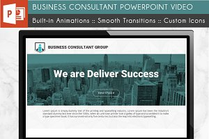 Business Consultant PowerPoint Video