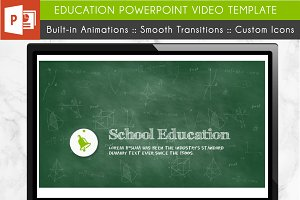 Education PowerPoint Video Template