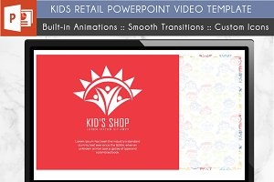 Kids Shop: PowerPoint Video Template