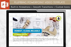 Plumbing Power Point Video Template