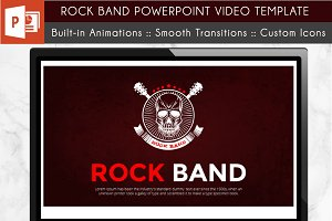 Rock Band PowerPoint Video