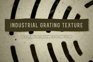 Industrial Grating Texture