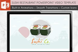 Sushi Restaurant Power Point Video