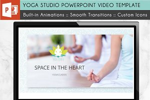 Yoga Studio Power Point Video